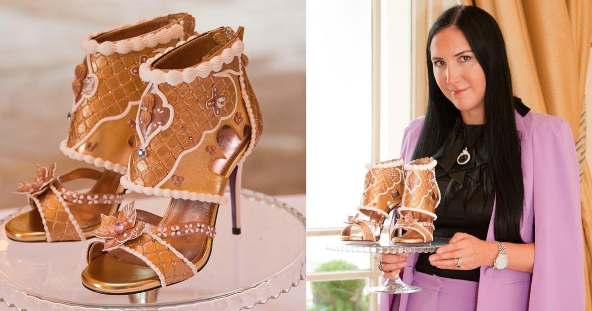 Debbie Wingham Debuts $15.45 Million Heels Covered in Diamonds