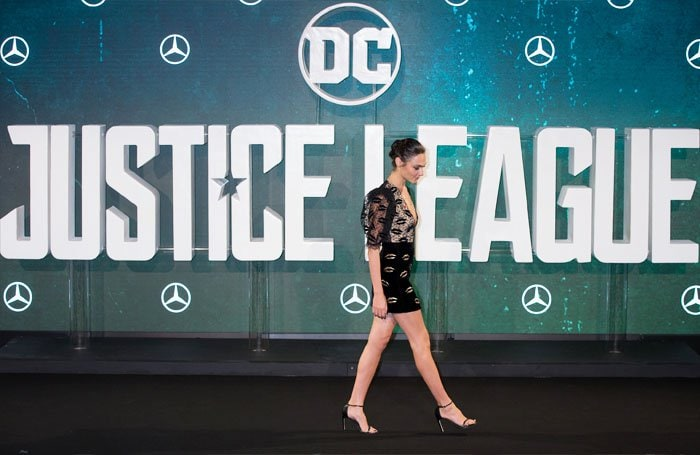 "Gal reprises her role as Wonder Woman in ""Justice League"""