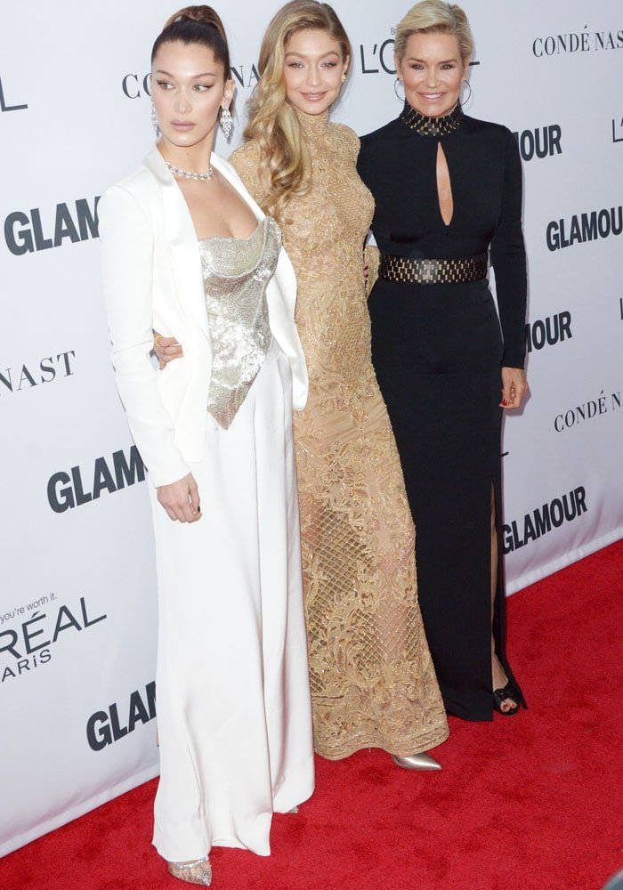 The three ladies stun at the Glamour event