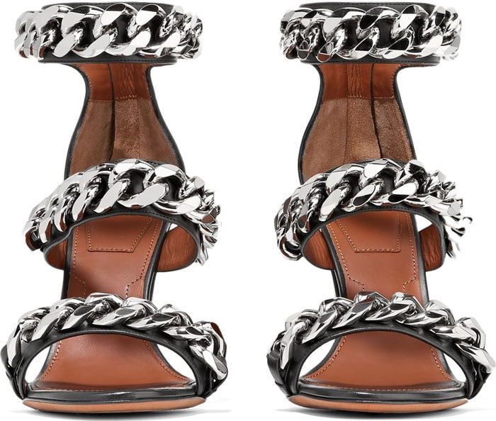Givenchy Chain-Embellished Sandals