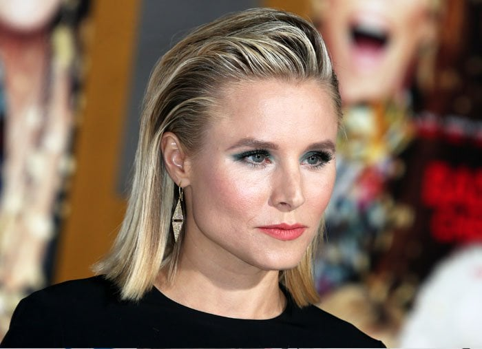 Kristen Bell Premieres Quot A Bad Moms Christmas Quot In Michael