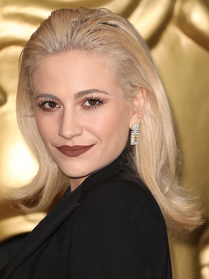 Pixie Lott at the 2017 BAFTA Children's Awards at Roundhouse, Chalk Farm Road, London, England, on November 26, 2017.