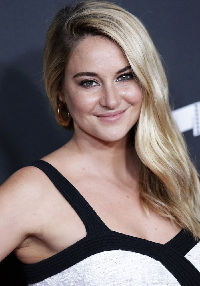 Shailene Woodley at the 21st Hollywood Film Awards, held at the Beverly Hilton Hotel in Beverly Hills, California on November 5, 2017