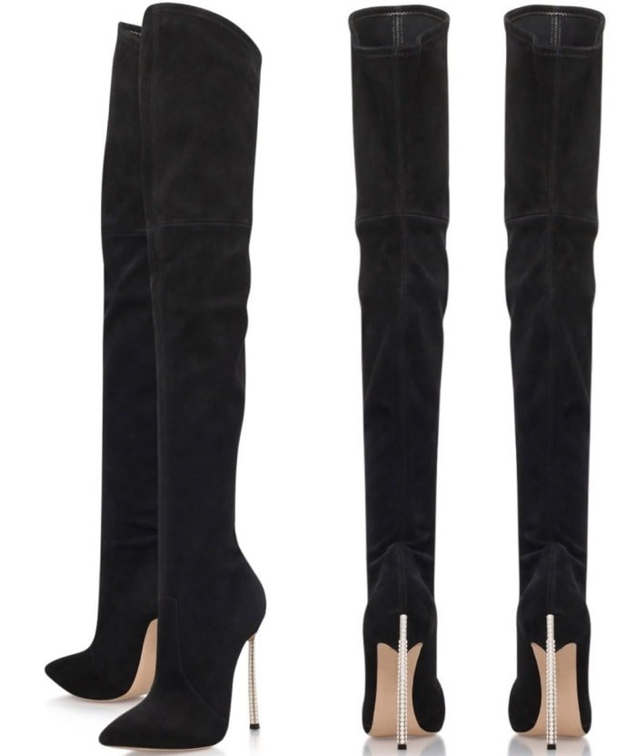 "Casadei ""Blade"" thigh-high boots"