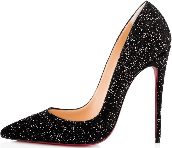 "Christian Louboutin ""So Kate"" pumps in black crosta meteor"