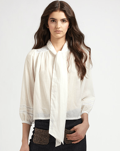 Elizabeth and James Maddie Button-Front Shirt