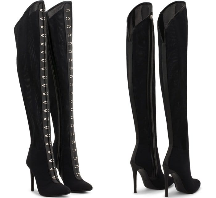 "Giuseppe Zanotti ""Janice High"" Over-the-Knee Boots"