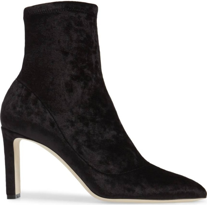 "Jimmy Choo ""Louella"" stretch booties"