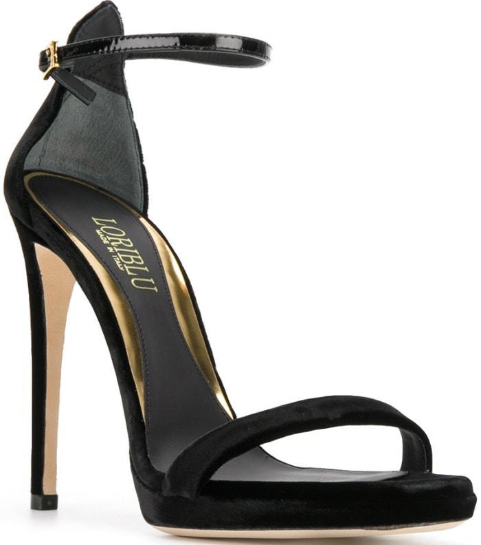 Loriblu velvet sandals