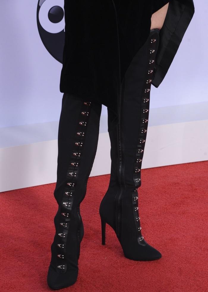 Nicole Kidman Rocks Giuseppe Zanotti Janice High Boots