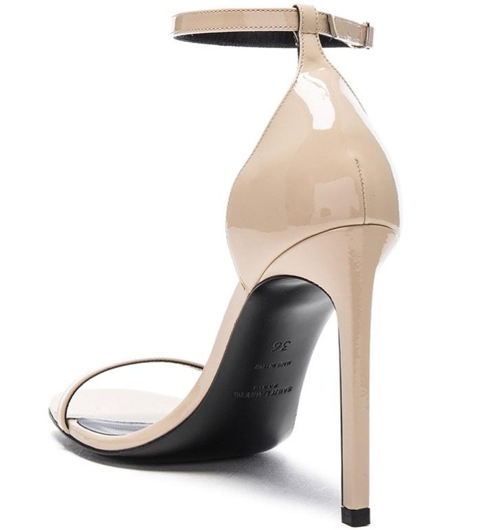 """Saint Laurent """"Jane"""" Sandals in Poudre"""