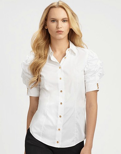 Yves Saint Laurent Cotton Blouse