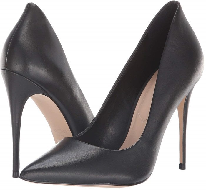 The black Cassedy pump will help you get ready for your big debut with style