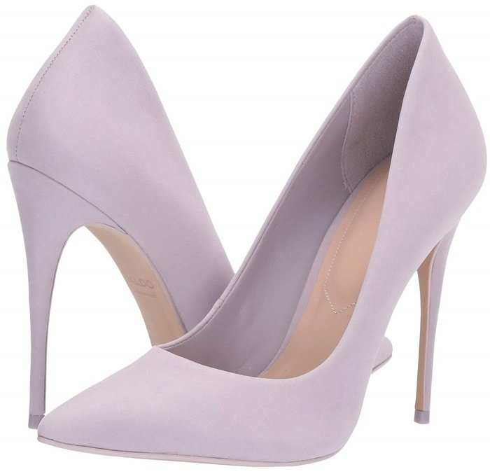 The lilac Cassedy pump will help you get ready for your big debut with style