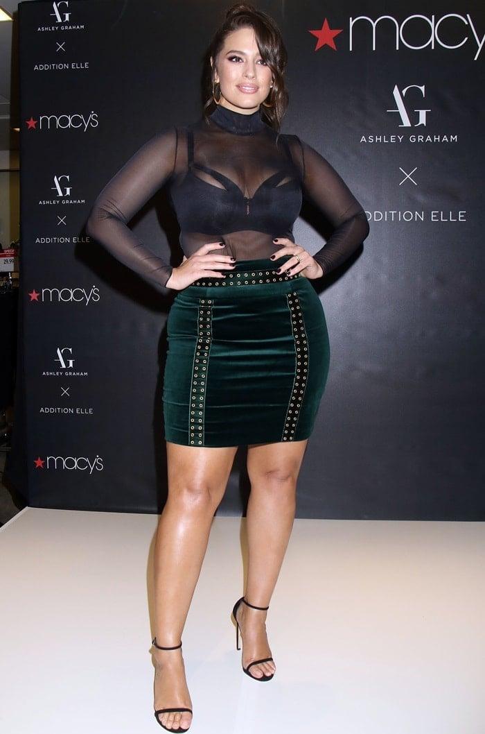 d9d34acbdc141 Ashley Graham Launches Lingerie Collection at Macy s in Las Vegas
