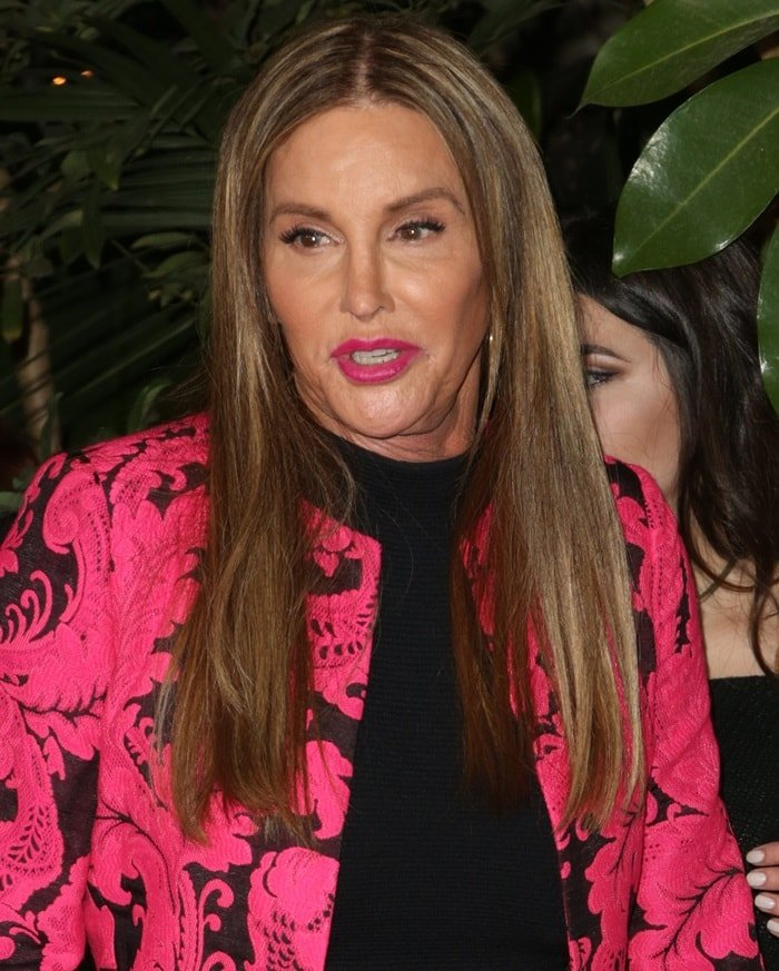 Caitlyn Jenner arrives at the 2017 GQ Men of the Year Dinner hosted by GQ and Dior Homme at the Chateau Marmont in Los Angeles on December 7, 2017