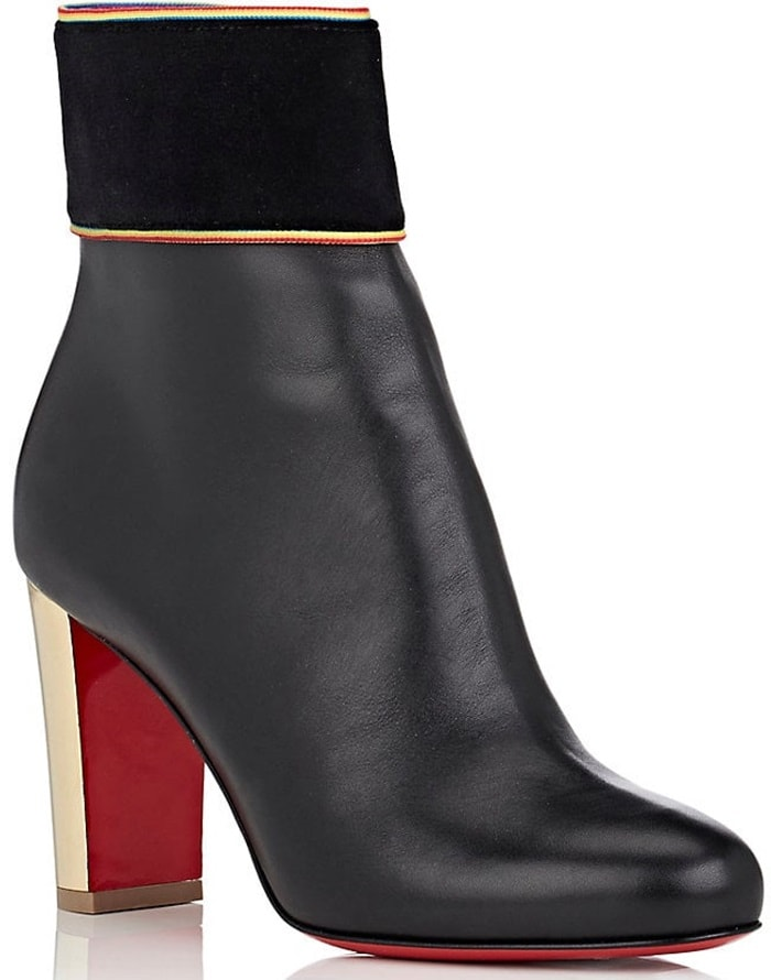 Christian Louboutin Moulamax Black Leather