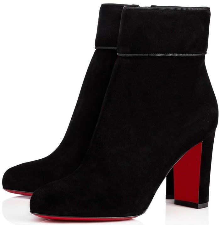 Christian Louboutin 'Moulamax' in Black Suede
