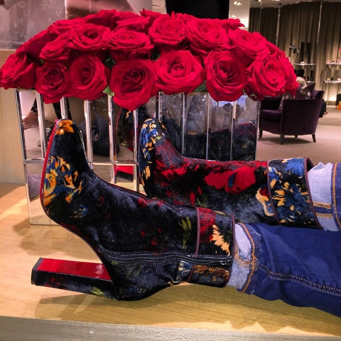 Christian Louboutin 'Moulamax' in Dark Floral