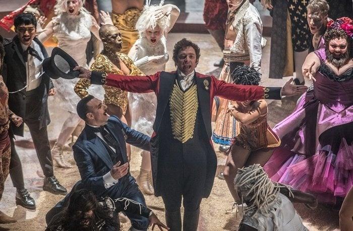 Hugh Jackman stars as ambitious showman P. T. Barnum in The Greatest Showman