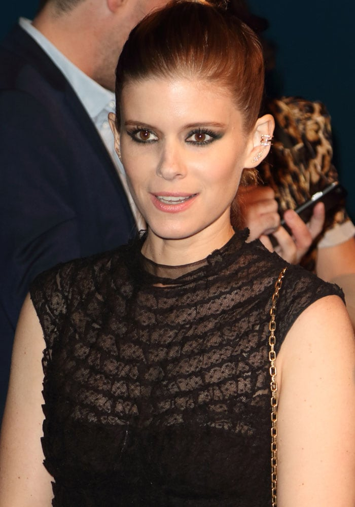 Kate Mara at the 2017 British Independent Film Awards in Thrapston, United Kingdom on December 10, 2017