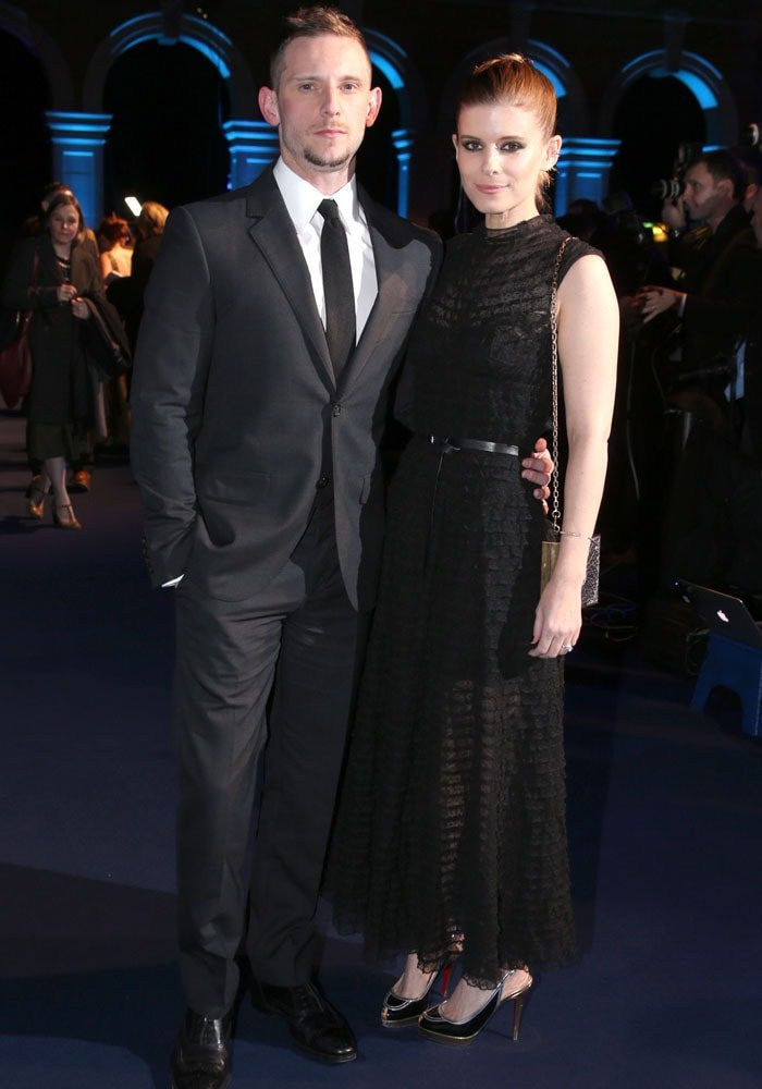 Kate supports her husband Jamie Bell, who is nominated for best actor