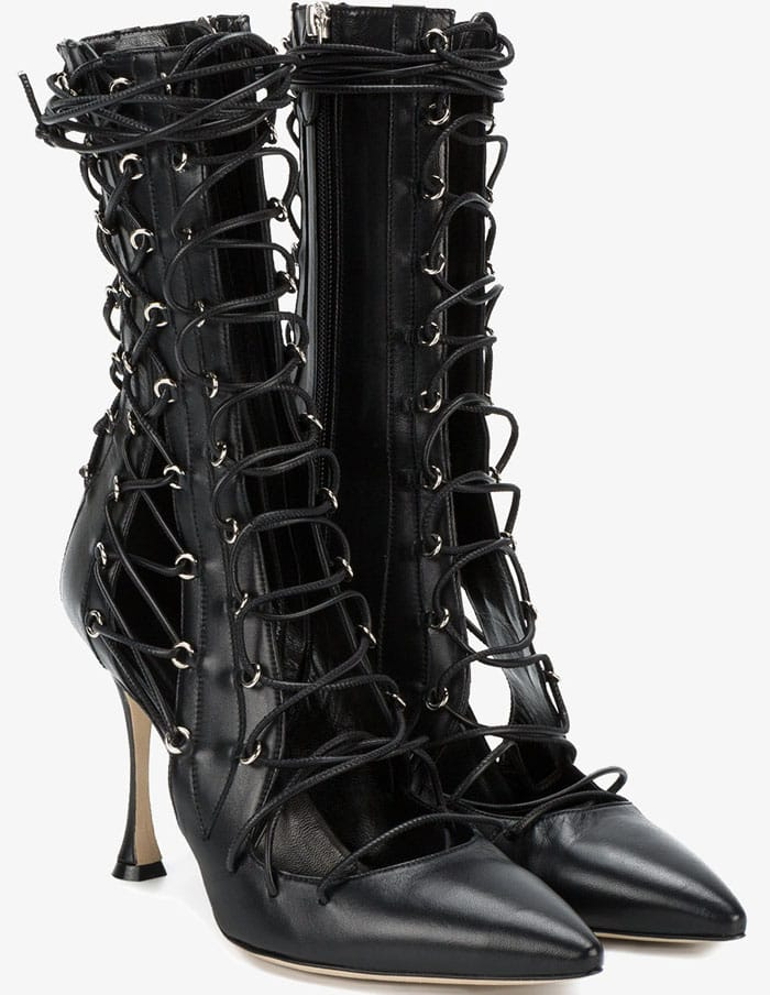 "Liudmila ""Drury Lane"" Lace-Up Boots"