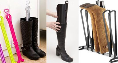 Boot Storage: Keep Boots From Slouching With Shoe Inserts