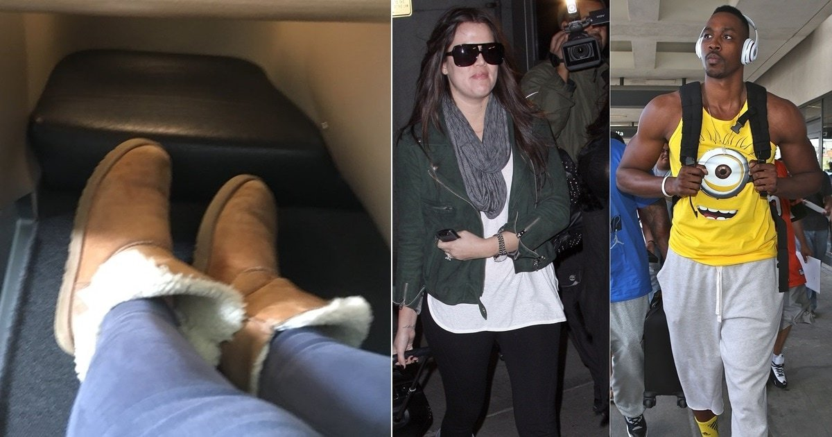 1a0de830c70 Qantas Bans Singer From Airport Lounge for Wearing Ugg Boots