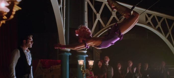 Zendaya learned trapeze and other circus skills for her role in The Greatest Showman