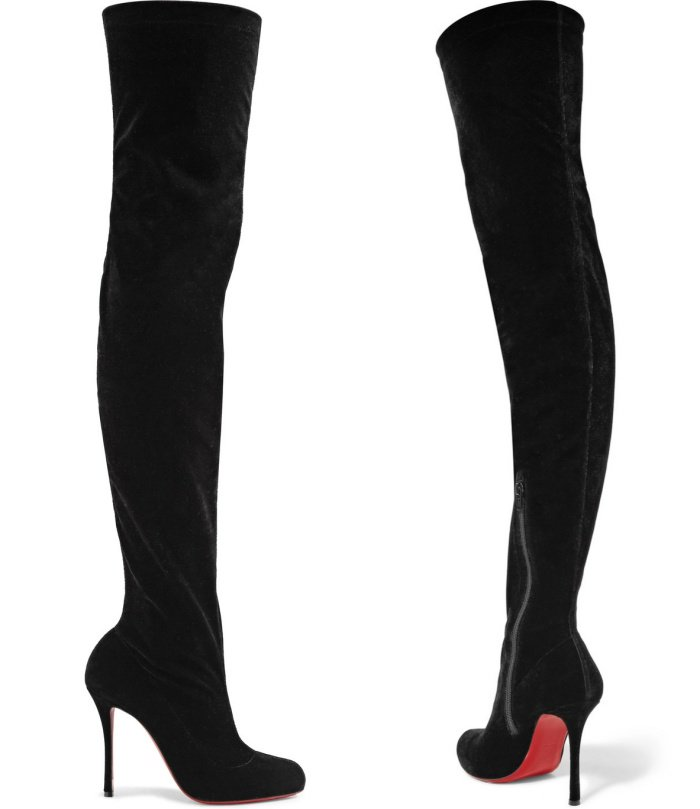"""Christian Louboutin """"Classe"""" over-the-knee boots"""