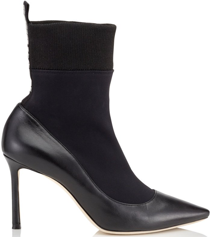 "Jimmy Choo ""Brandon"" sock ankle boots"