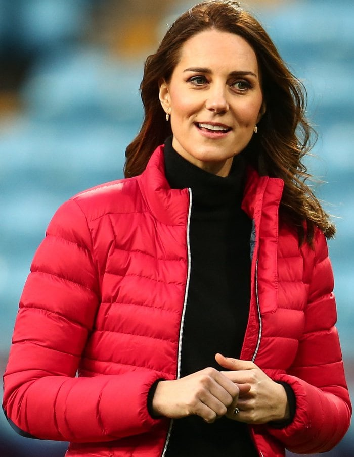 Kate Middleton looked lovely in a Perfect Moment ski jacket