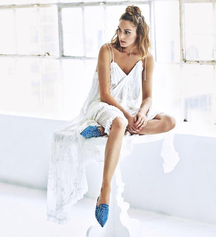 Olivia Palermo for Pretty Ballerinas Spring 2018 Campaign