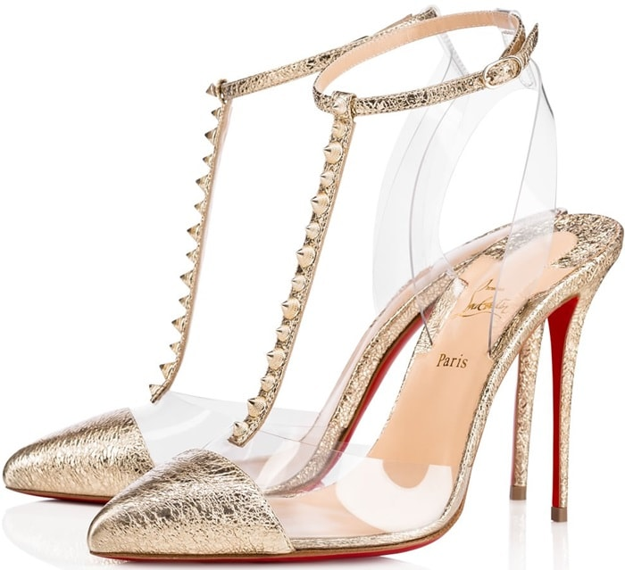 Christian Louboutin 'Nosy Spikes' 100 mm