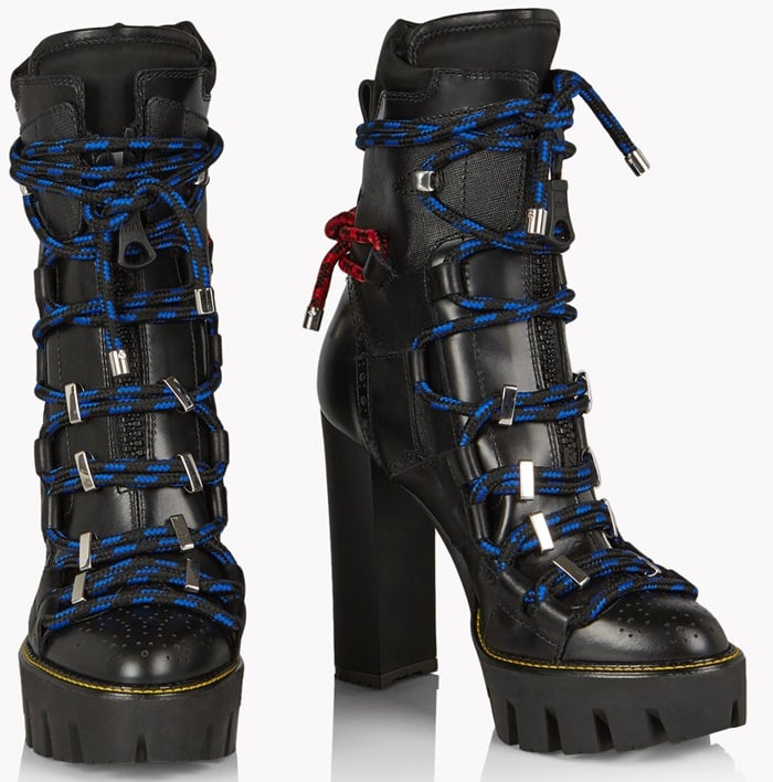Dsquared2 'Techno Cord' platform boots