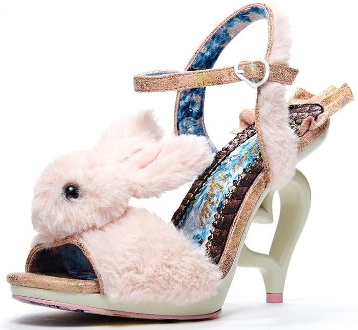 Fluffy Love Irregular Choice Bunny Heels