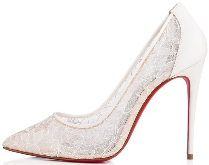 """Follies Lace"" is an exquisite piece of footwear finery"