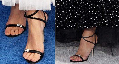 485856d79711 Swarovski-Embellished  Ellie  Heels With Dual Crystals Worn by Sarah  Hyland
