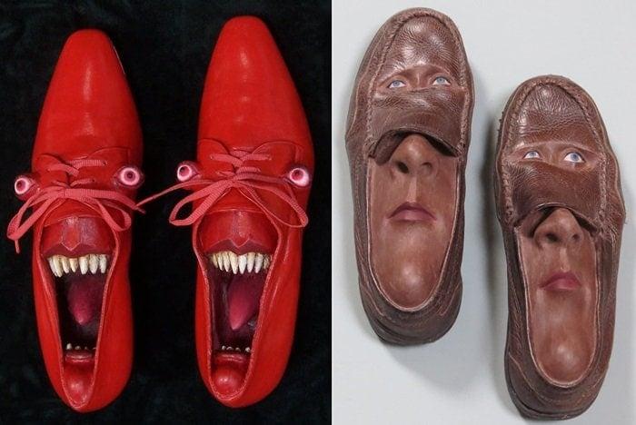 Gwen Murphy's Incredible Face Shoes