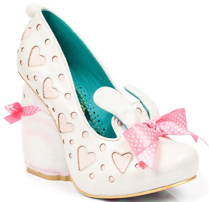 Irregular Choice 'Hop Along' Bunny Heeled Pumps