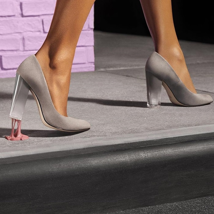 Katy Perry The A.W. Lucite Heels