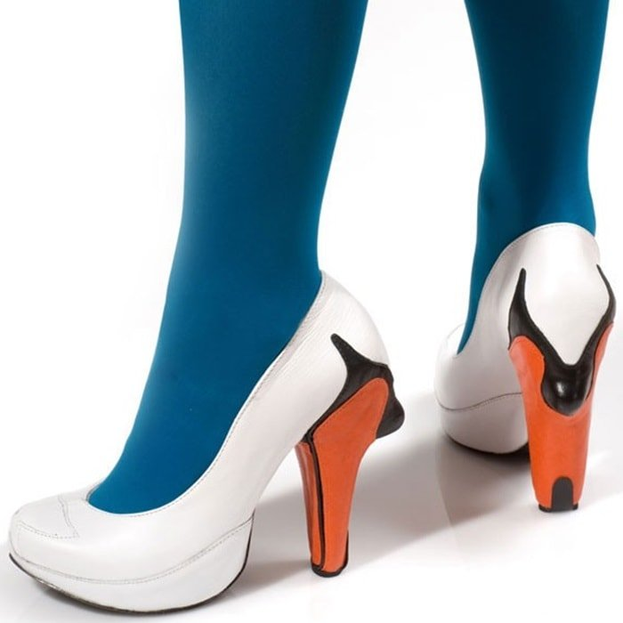 Kobi Levi Swan Heels