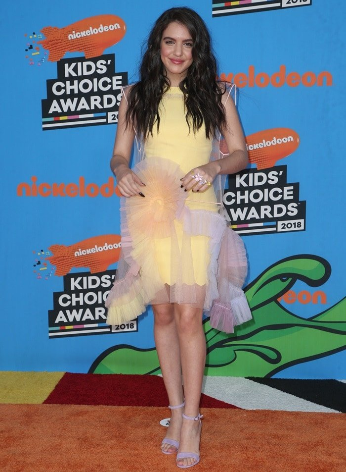 Lilimar Hernandez at the 2018 Nickelodeon Kids' Choice Awards