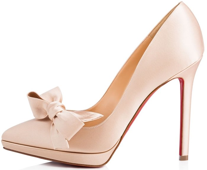 promo code 32bf4 a1a5b Red Bottom Wedding Shoes: 10 Christian Louboutin Bridal ...