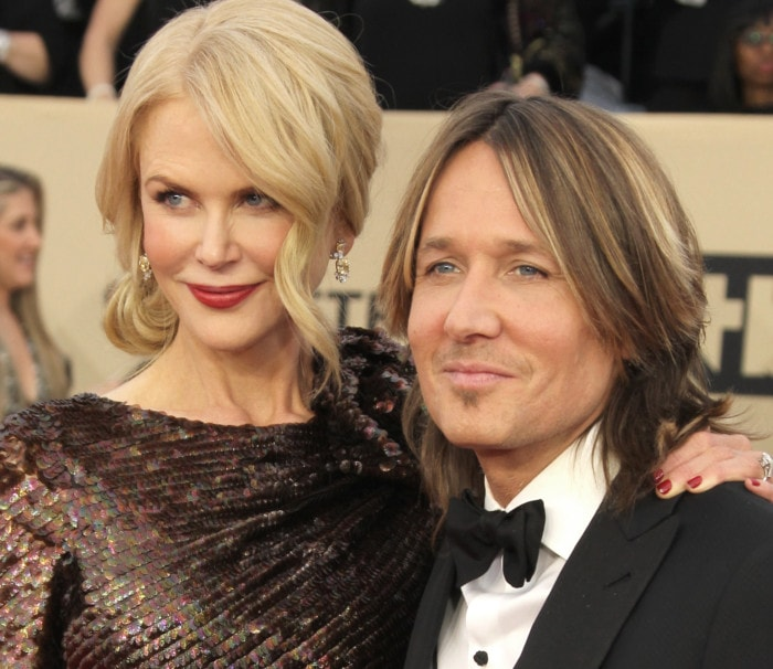 Nicole couples up with her supportive husband and country star Keith Urban