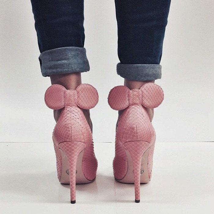 Oscar Tiye 'Minnie' Heels