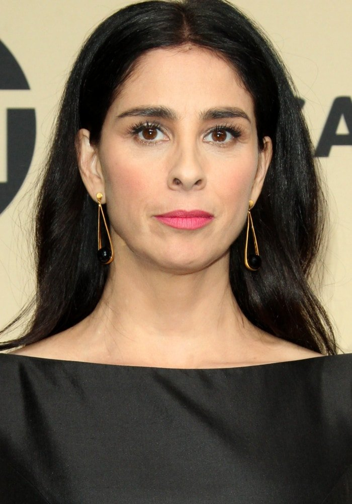 Sarah Silverman at the 24th Screen Actors Guild (SAGs) Awards 2018 held at the Shrine Auditorium in Los Angeles, California on January 21, 2017
