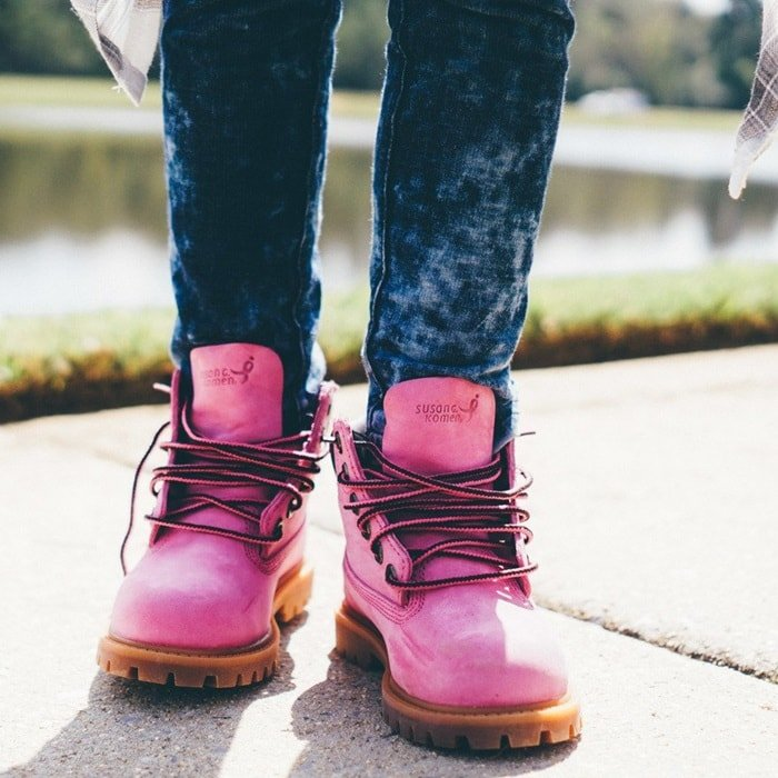 Timberland Limited Release | Susan G. Komen Boot Collection
