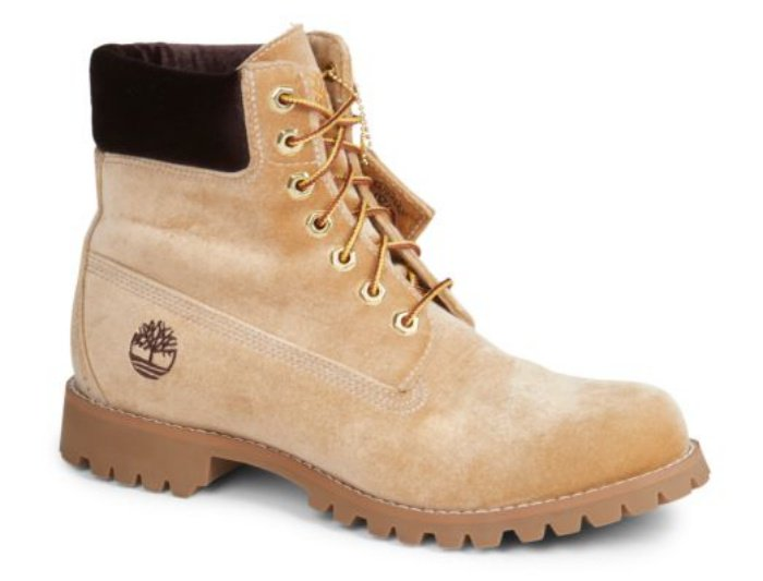 Timberland x Off-White leather lace-up boots